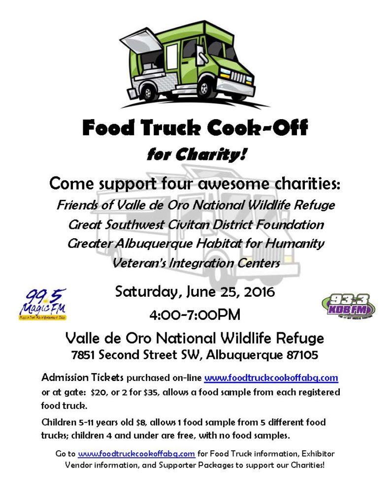 Food Truck Cook-Off flyer