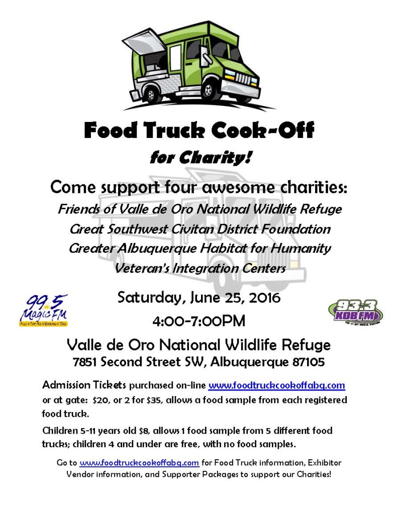 Food Truck Cook-Off flyer